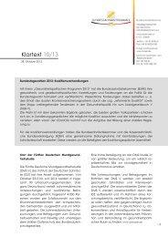Klartext 10/13 - Die Bundeszahnärztekammer