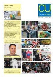 Die Mitarbeiterzeitung (14) - Chemie - Universität Hamburg