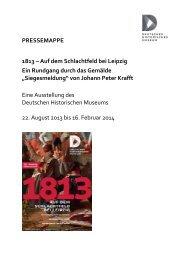 Pressemappe - Deutsches Historisches Museum