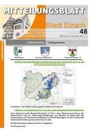 KW48 - Stadt Elzach