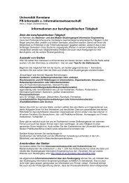 pdf-Datei - Fachbereich Informatik & Informationswissenschaft ...