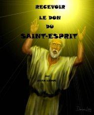 Recevoir le Don du Saint-Esprit