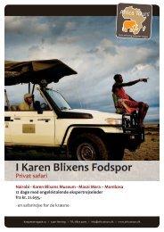 I Karen Blixens Fodspor 2014