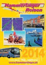Umschlag 2014_Umschlag 2014 - Hammertinger Reisen