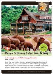 Kenya Drømme Safari