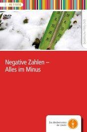Negative Zahlen – Alles im Minus - FWU