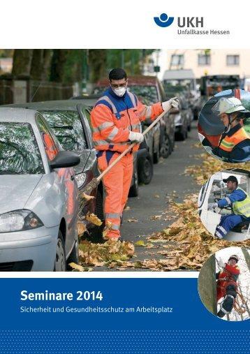 AUV-Seminare 2014 - Unfallkasse Hessen