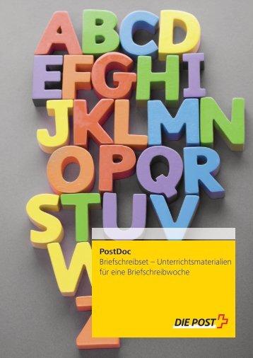 Kommentar für Lehrpersonen & ArbeitsblätterLink wird in ... - Die Post