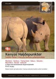 Kenyas Højdepunkter