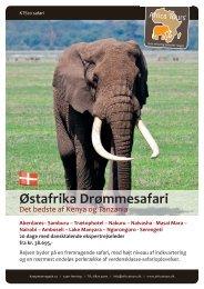 Østafrika Drømmesafari
