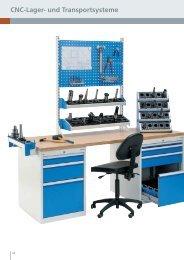 CNC-Lager- und Transportsysteme