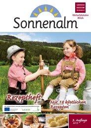 Rezeptheft 2013 - Sonnenalm
