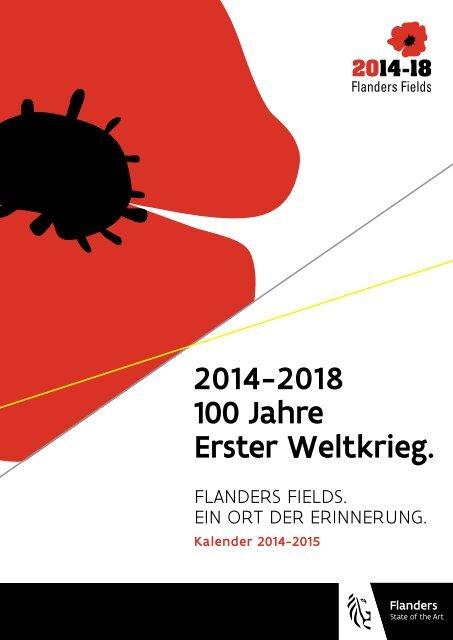 2014-2018 100 Jahre Erster Weltkrieg. - Hypotheses