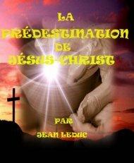 La prédestination de Jésus-Christ
