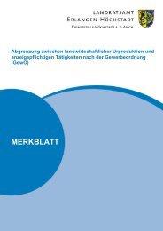 Merkblatt Abgrenzung zwischen landwirtschaftlicher Urproduktion ...