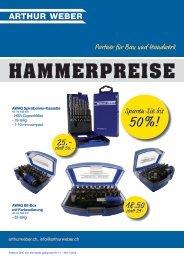 Flyer Hammerangebot (pdf) - Arthur Weber AG