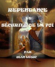Repentance et sécurité de la foi.