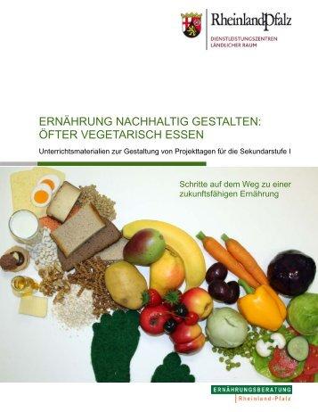 Projekt_Oefter_vegetarisch.pdf - DLR - in Rheinland-Pfalz
