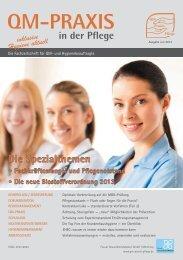 QM-Praxis in der Pflege – Ausgabe Juli 2013 – © 2013 Forum ...