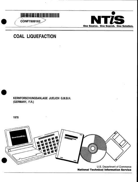 coal liquefaction - Fischer-Tropsch Archive
