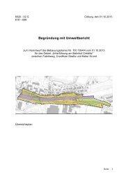04.10.2013 Begründung Vorentwurf BPlan Nr. 100 ... - Stadt Coburg
