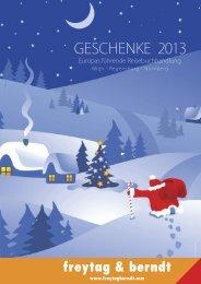 Geschenke 2013 - Freytag & Berndt