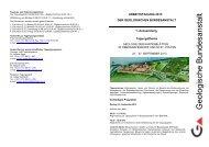 1. Aussendung - Geologische Bundesanstalt