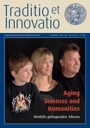 Aging Sciences and Humanities - Interdisziplinäre Fakultät ...