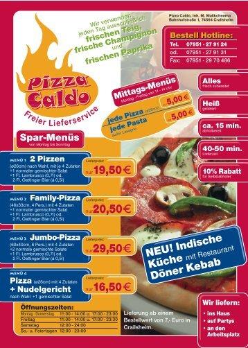 Pizza Caldo Crailsheim