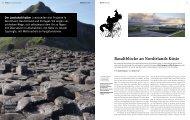 Basaltblöcke an Nordirlands Küste - Bauwelt