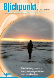 Blickpunkt Ausgabe Februar / März 2013 (PDF-Datei)
