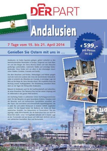 Höhepunkte Andalusiens - eine Standort ... - DERPART.COM