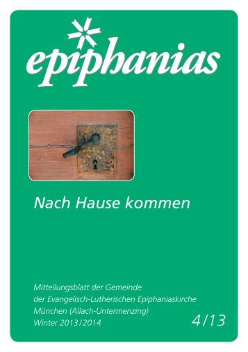 ca. 1,3 MB - Epiphaniasgemeinde München