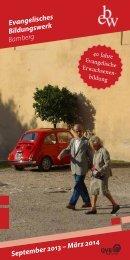 Programmheft zum Download - ebw Bamberg