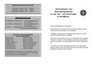 Kar- und Ostertage 2013 Information - Katholische Pfarrei Heilig ...