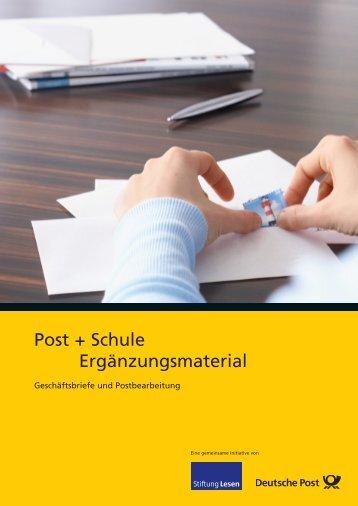 Herunterladen und ausdrucken - Deutsche Post