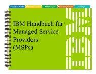 Handbuch für Managed Service Provider - IBM