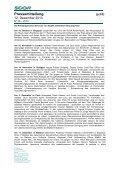 Pressemitteilung Aktuarspreise: SCOR weitet Förderung der ... - Page 2
