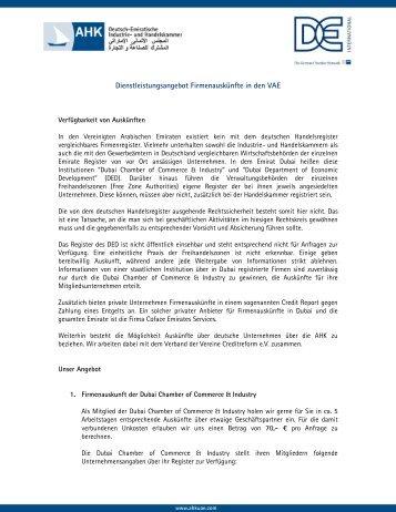 Immobilienrecht In Den Vae Katar Und Oman Deutsch Emiratische
