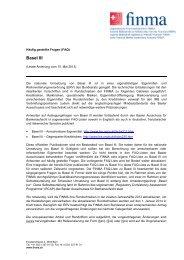 FAQ: Basel III