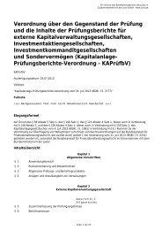 Verordnung über den Gegenstand der Prüfung und die Inhalte der ...