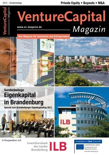 Eigenkapital in Brandenburg - ILB