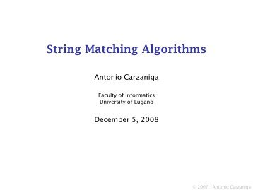 slides used in class - Faculty of Informatics