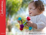 View Our 2013 New Infant Toy Catalog - Infantino
