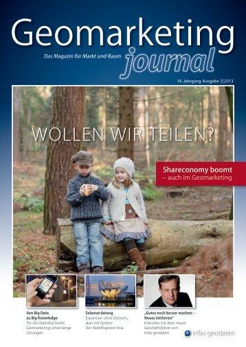 Geomarketing-Journal - infas GEOdaten
