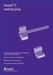 Avseal® II sealing plug