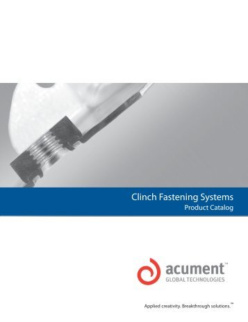 Clinch Fastening Systems