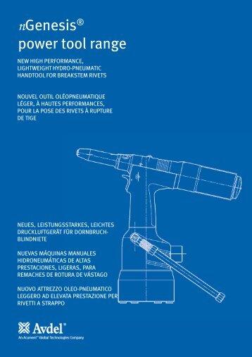nGenesis® power tool range