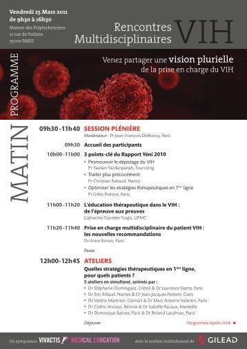 Programme - Infectiologie