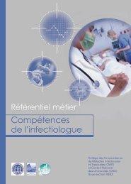 Référentiel métier • Compétences de l'infectiologue - Infectiologie